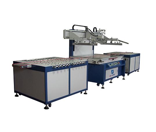 东莞1015PB自动进出料定位丝印机