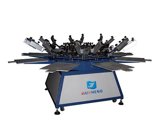 八爪鱼手动丝印机
