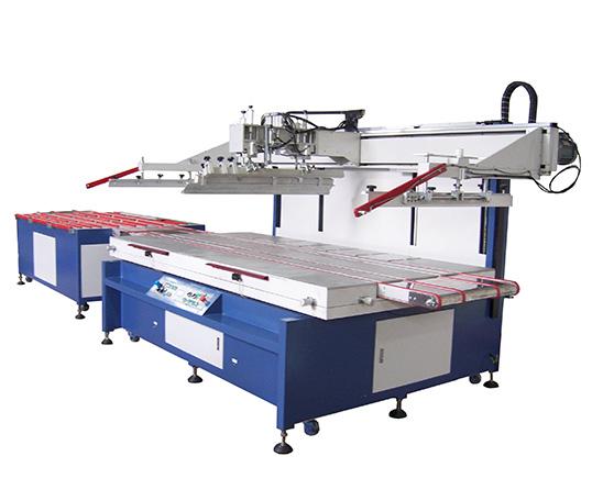 大型非标自动进出料丝印机