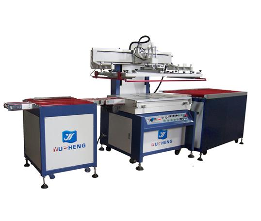 全自动板材带进/退料机,自动定位丝印机