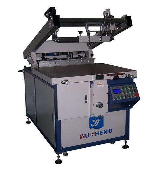 YS-6090XB斜臂式丝印机