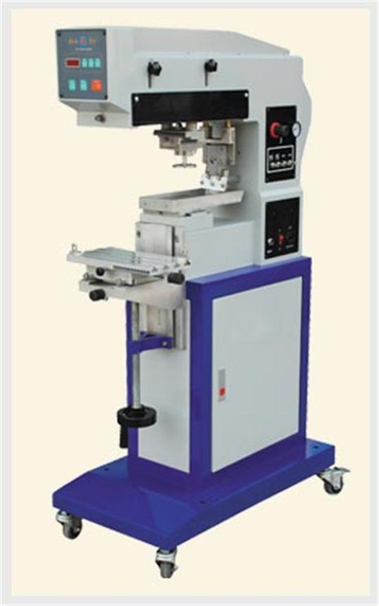 钢板150x100自动单色移印机