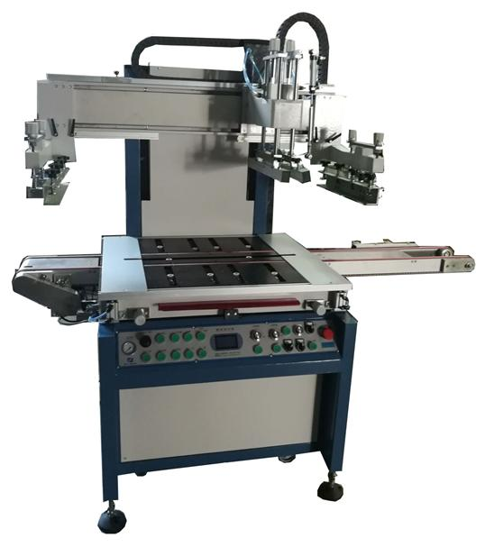 东莞YS-5070T一体式自动玻璃丝印机
