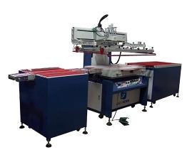 自动进出料输送丝印机