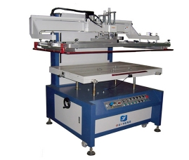 台面升降式平面丝印机