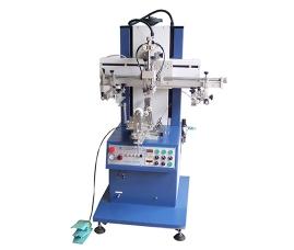 曲面气动丝印机/小型气动丝印机