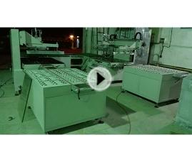 YS-8012T自动定位玻璃丝印机