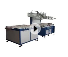 YS-1810T汽车玻璃专用丝印机