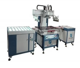 YS-6090T自动定位输送丝印机