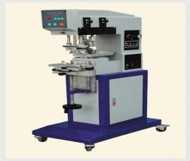 钢板100x100自动单色移印机