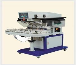 四色输送式移印机