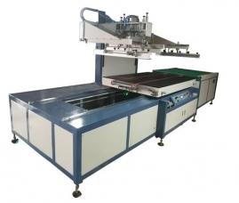 YS-1215T自动退料单跑台平面丝印机